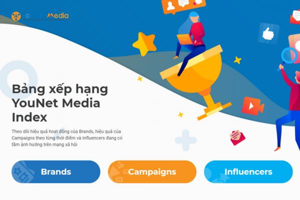 """YouNet Media ra mắt bảng xếp hạng mới: Bước khởi sắc cho """"Cuộc đua giữa các Thương hiệu"""""""