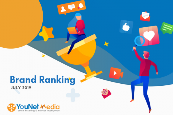 Chính thức ra mắt YouNet Media Index và Bảng xếp hạng Thương hiệu tháng 7/2019